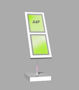 Portrait A4 LED Light Panel 1 wide x 2 high (6260015)
