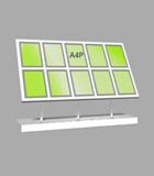 Portrait A4 LED Light Panel 5 wide x 2 high (6260415)
