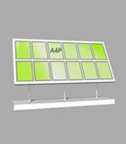 Portrait A4 LED Light Panel 6 wide x 2 high (6260515)