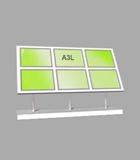 Landscape A3 LED Light Panel 3 wide x 2 high Bevelled (6260815B)