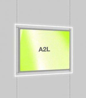 Landscape LED Light Window Pocket Display Kit Single A2 (6202515)