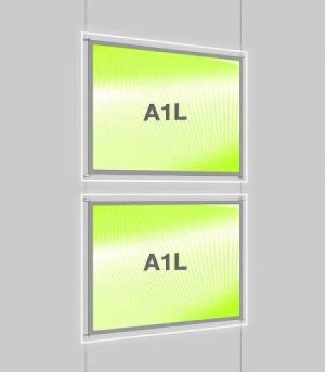 Landscape LED Light Window Pocket Display Kit Double A1 (6203115)