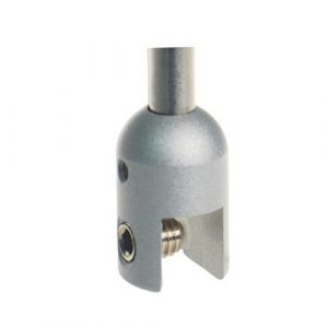 Vertical Rod End Clamp Satin (6211013)