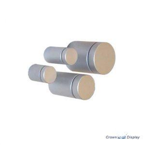 Aluminium Standoff 19mm x 25mm - Satin (7232513B)