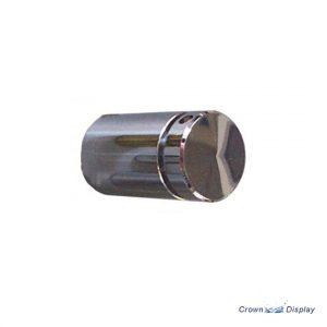 Chrome Flat Head Standoff 19mm x 25mm with hole (3132110)