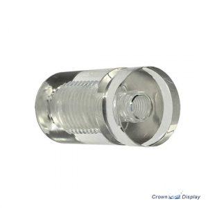Clear Acrylic Standoff 19mm x 25mm  (7237615)