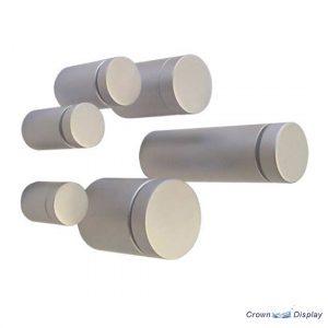 Premium Aluminium Standoff 13mm x 19mm  - Satin (7232313)