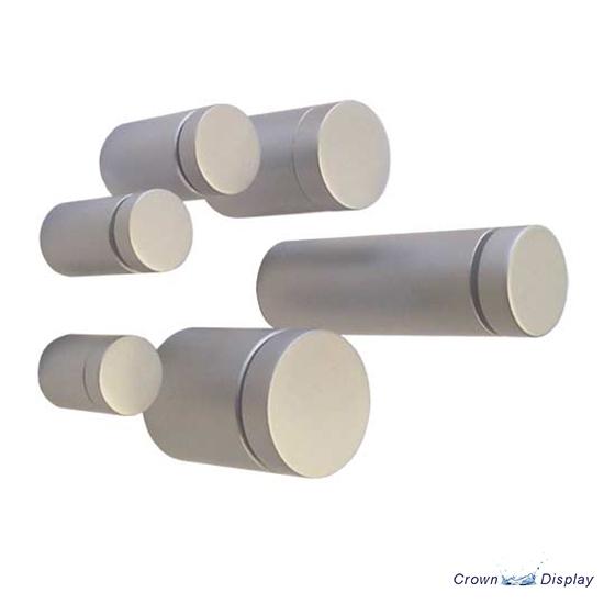 Premium Aluminium Standoff - 19mm x 25mm Satin (7232513)