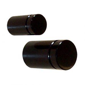 Aluminium Flat Head Standoff BLACK (7233521)