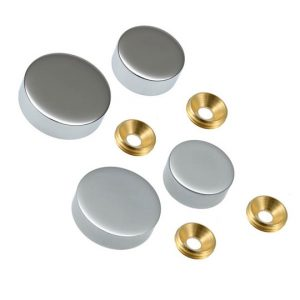 Screw Head Covers Satin 15mm (5031211)