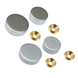 Screw Head Covers Chrome 15mm (5031210)